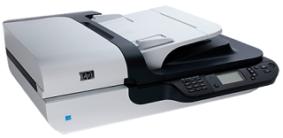 Best Network Scanners - HP Scanjet N6350