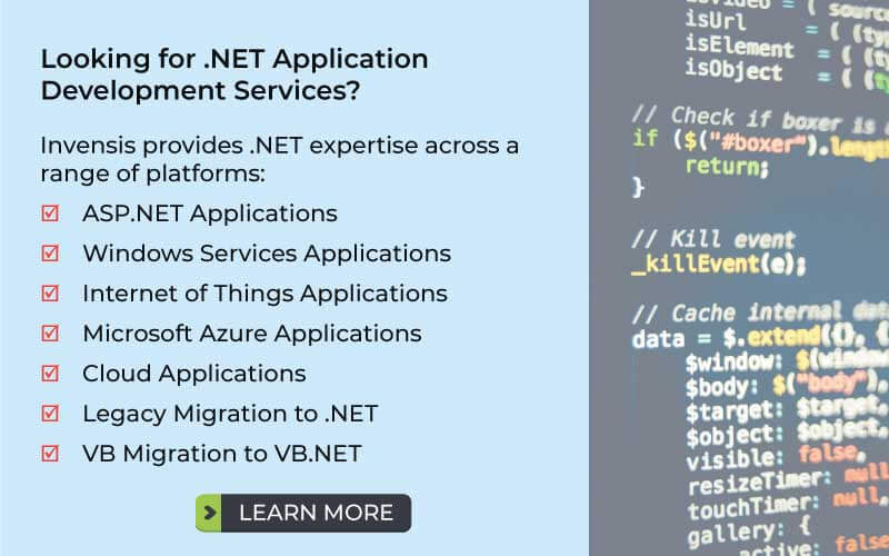 Advantages and Disadvantages of  NET and Java - Invensis