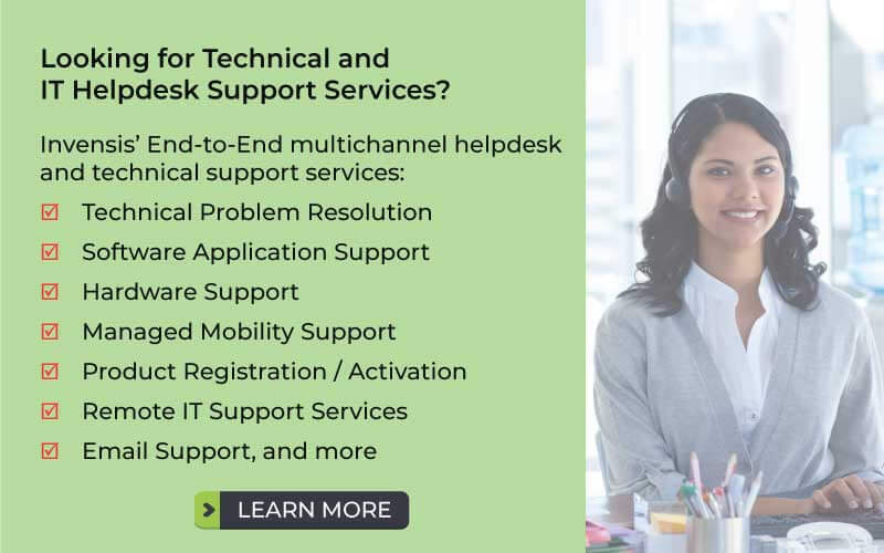 What Is A Help Desk And Its Importance For Your Organization   Invensis  Technologies