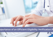 Efficient Eligibility Verification Process
