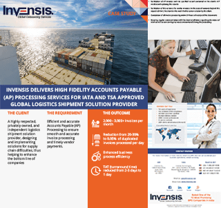 Download Freight Invoice Processing Management Services Case Study - Freight invoice management